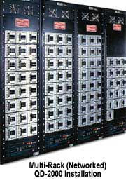 Multi-Rack (Networked) QD-2000 Installation