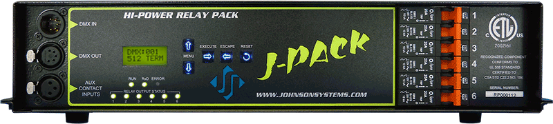 J-PACK Relay Pack